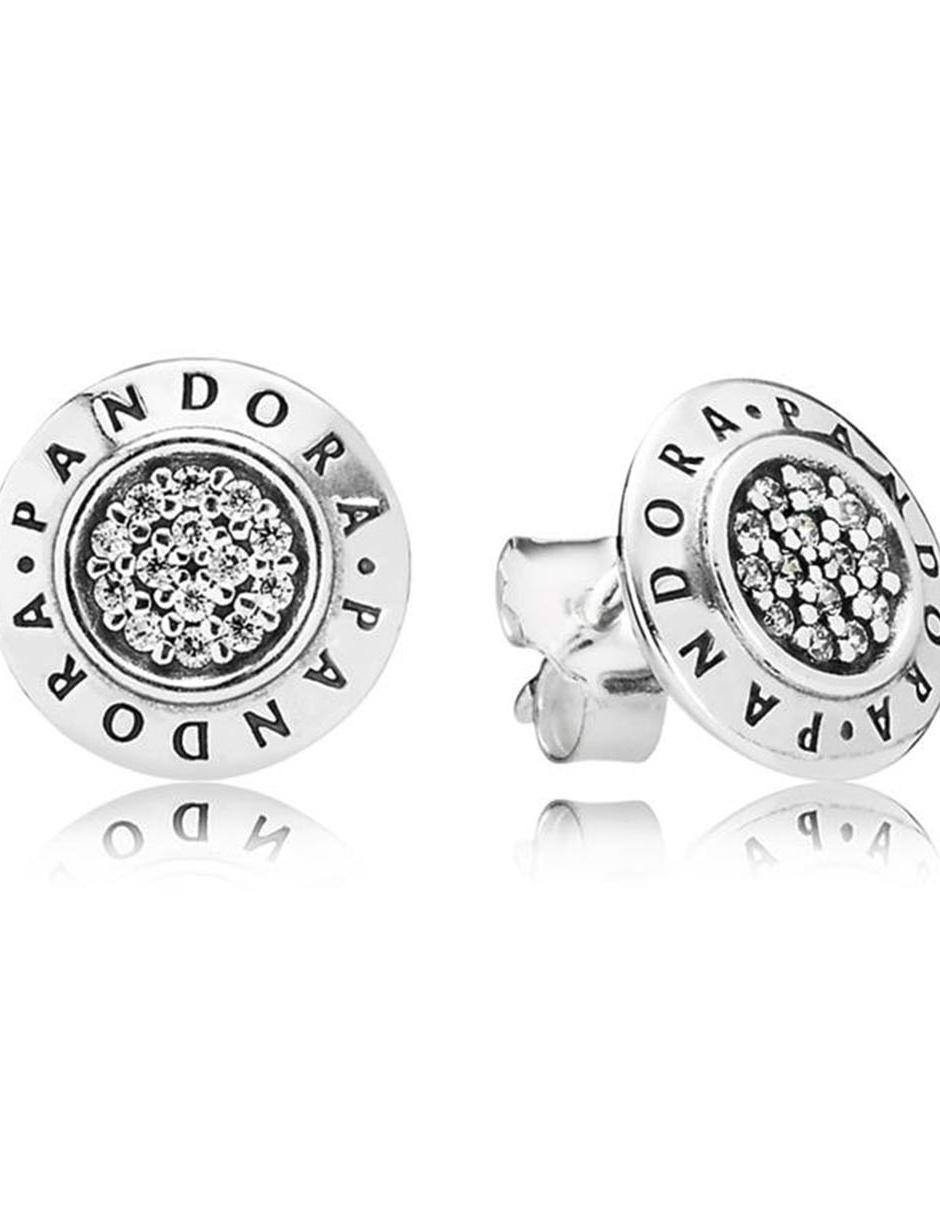 vívido y de gran estilo venta minorista lindo baratas Aretes de plata P925 Pandora Logo en Liverpool